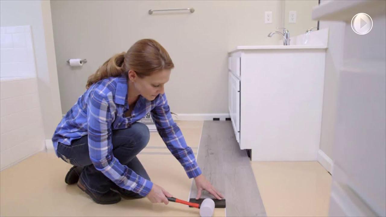 Replace Your Bathroom Floor