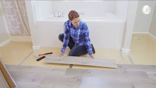 Replace Your Bathroom Floor