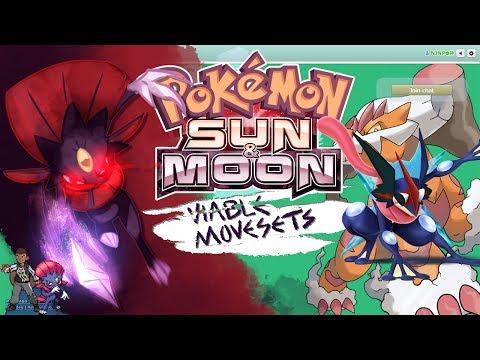 Pokémon How To Really Use: Ash-Greninja Moveset-Competitive Movesets w NJNP