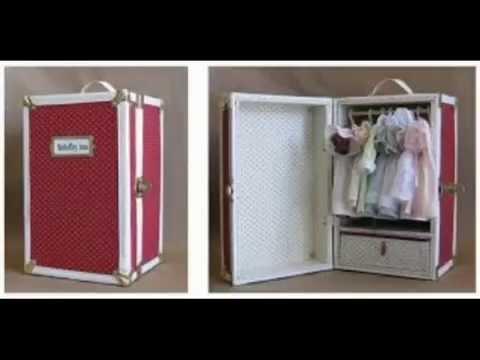 Как сделать для куклы КОМОД и КАМИН. How to make doll DRESSER, and a FIREPLACE. 如何讓娃娃梳妝台,和一個壁爐。 смотреть в хорошем качестве