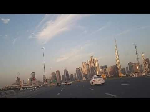 Beautiful Morning view of Dubai Burj Khalifa