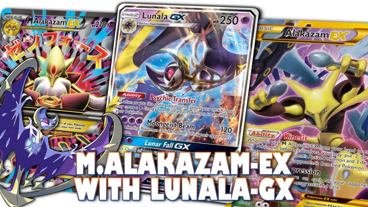 Pokemon Tcg Lunala Gxmega Alakazam Ex Standard Format Deck