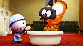 강아지의 목욕 시간 | Spookiz | 어린이를위한 만화