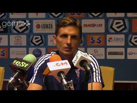 Górnik Zabrze 2-0 Wisła Kraków. Konferencja prasowa: Marcin Brosz (20-05-2018)