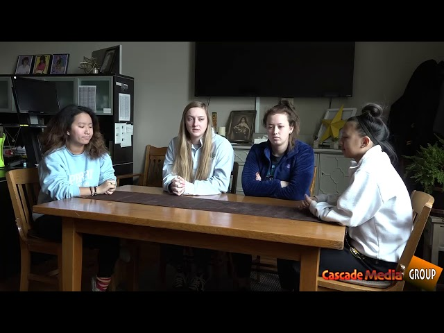 Students from St. Teresa's Academy lean into the democratic process Part 1