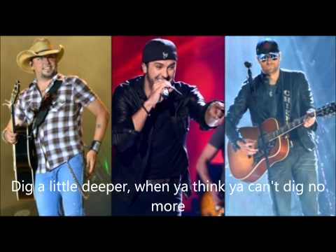 Jason Aldean Ft  Luke Bryan & Eric Church  The Only Way I Know