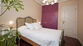 Dormitorio con muebles antiguos - Decogarden