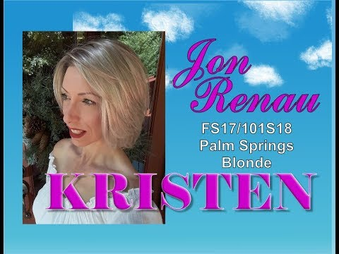 Jon Renau Kristen Wig Review in the Color Palm Springs Blonde FS17/101S18
