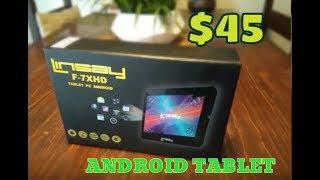 Linsay 7 inch Tablet Review ( $45 Tablet )