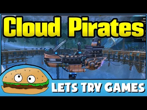 CLOUD PIRATES 🍔 Lets Try Games 🍔