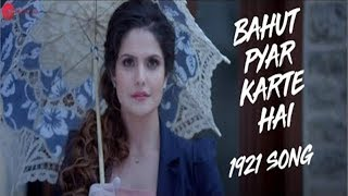 Bahut pyaar karte hain tumko sanam|(lyrical)|Lyrics Motion|Whatsapp Status |Saajan movie (1991) |