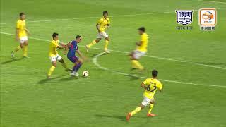 賽事精華Match highlights: 傑志Kitchee 2-2 武里南聯Buriram ...