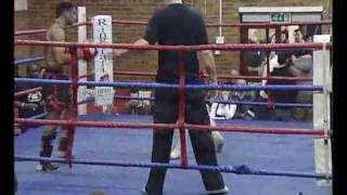 Muay thai Interclub 2009 (Zeeshan KO GYM Bathnel Green)