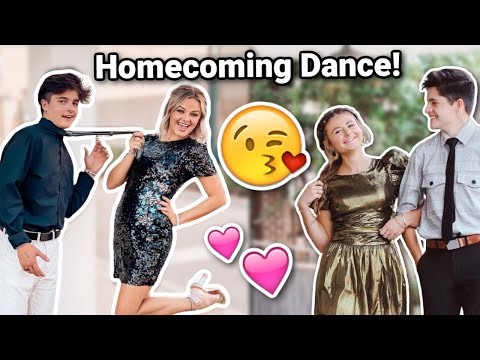 JUNIOR Year HOMECOMING School Dance! | Brock and Boston