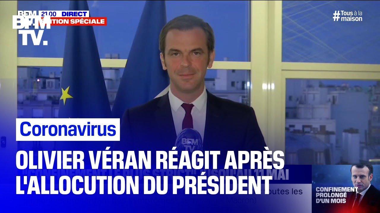 Coronavirus: Olivier Véran réagit après l'allocution d'Emmanuel Macron