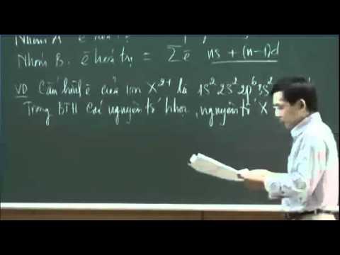 YouTube   3  Xác định vị trí của nguyên tố   Cấu hình electron  Bảng tuần hoàn
