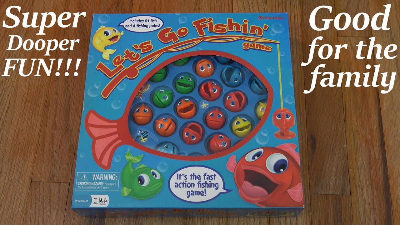 Fishing games for kids to play - Fun Activity For Kids Family Let S Go Fishin Game Catching A Fish Game Youtube