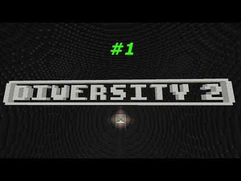 """Minecraft. Прохождение карты Diversity 2 - #1 """"Escape"""""""