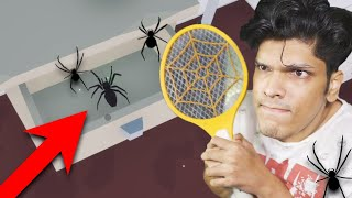 I HATE SPIDERS !!!
