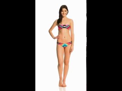 Rip Curl Swimwear Lolita Bandeau Bikini Top | SwimOutlet.com