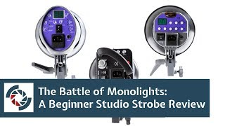 Battle of the Monolights: A Beginner Studio Strobe Review