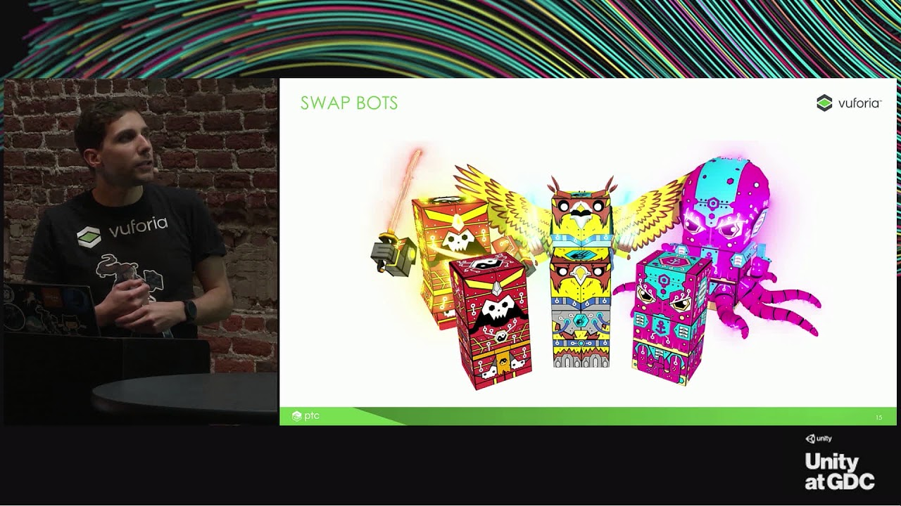 Unity at GDC - Introduction to AR using Vuforia in Unity