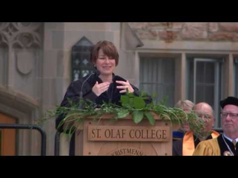 2017 Commencement Address - Senator Amy Klobuchar