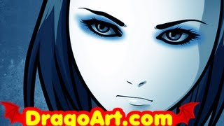 How to Draw Ergo Proxy, Re-l Mayer, Step by Step