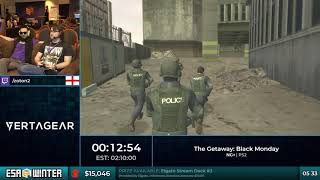 #ESAWinter18 Speedruns - The Getaway: Black Monday [NG+] by zoton2
