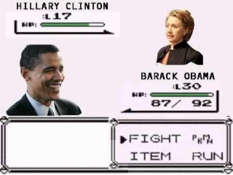 Political Pokemon Battle