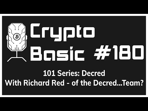 101 Series - Decred Featuring Ricuard Red