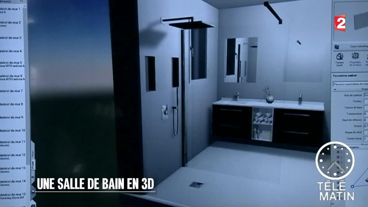Nouveau Salle De Bain En D YouTube - Outil 3d salle de bain