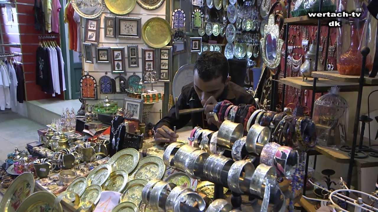 Medina Shopping in Tunisia Hammamet Report