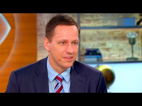 PayPal co-founder Peter Thiel on the future of technology