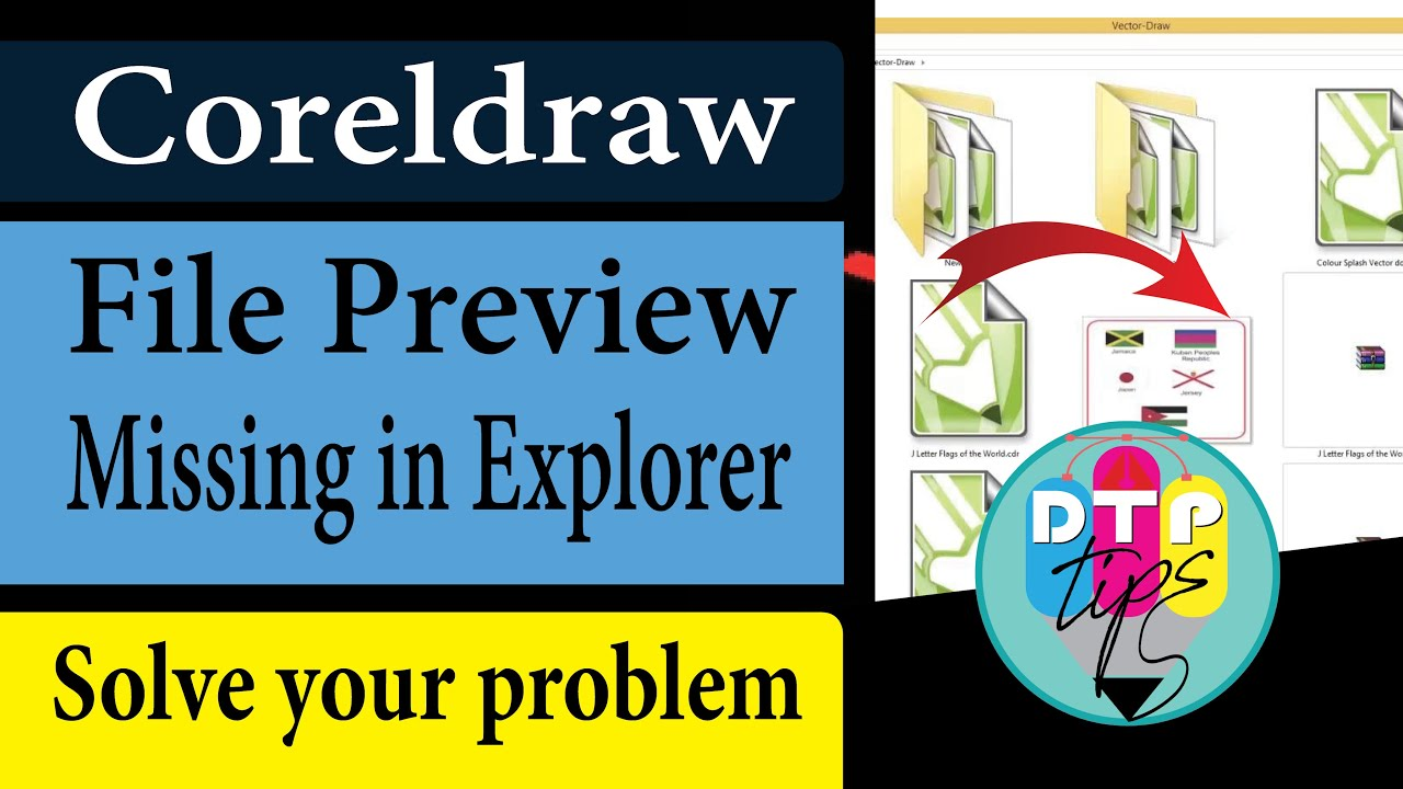 Corel draw for windows 7 - Coreldraw Cdr File Preview Missing In Windows Explorer W English Sub Video In Hindi
