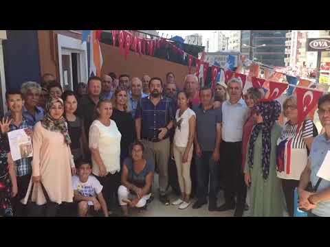 İhsan GÜLTEKİN ,mezitli seçim çalışmaları 2018 ,hedef 24 Haziran