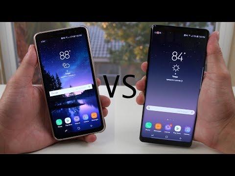 Galaxy Note 8 vs Galaxy S8 (Active) Full Comparison