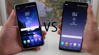 Galaxy Note 8 vs Galaxy S8 (Active) Full Comparison