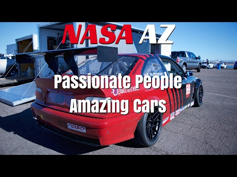 Passionate People, Amazing Cars- A NASA AZ Track Day Experience