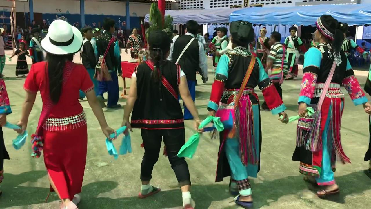 泰國清萊 過年 打跳同樂 Thailand lisu ราชอาณาจักรไทย เชียงราย - YouTube