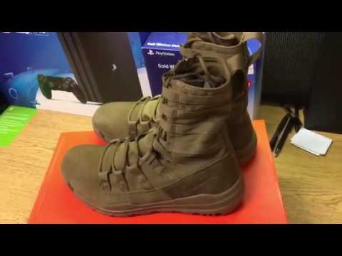 newest 795f1 56d7c Nike Sfb Gen 2 Combat Boot Coyote Brown Review Hd Youtube