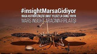Mars InSight Aracının Fırlatılışı (CANLI YAYIN) #insightMarsaGidiyor