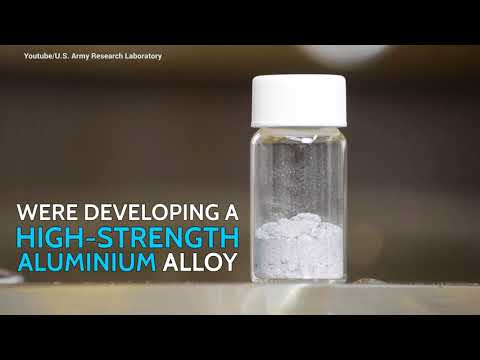 Accidental Discovery: Water + Aluminium = Hydrogen