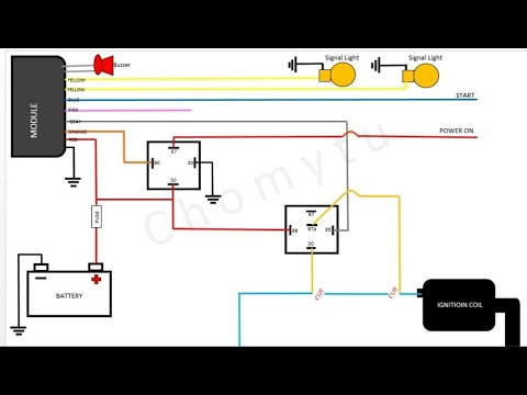 2 way alarm wiring diagram