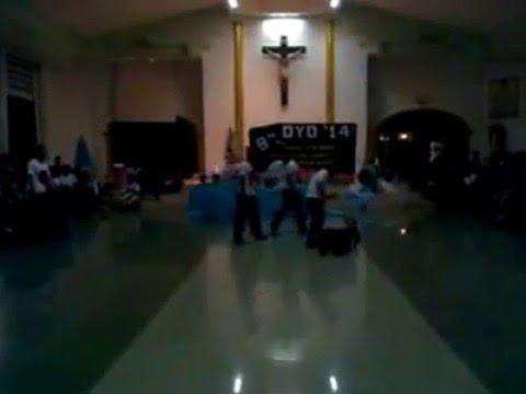 A play inside a Church
