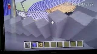 Minecraft Lets Build a Basketball Arena Part 1