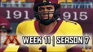 NCAA Football 14 Dynasty: Week 11 vs #13 Illinois - (Season 7)