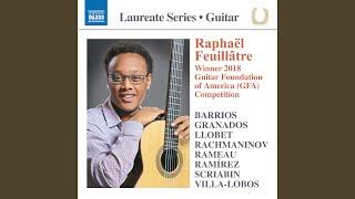 8 Valses Poéticos (Arr. R. Feuillâtre For Guitar)