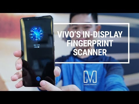 Vivo X20 Plus UD Hands-On: World