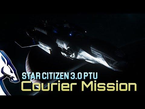 Star Citizen 3 0 PTU: Courier missions